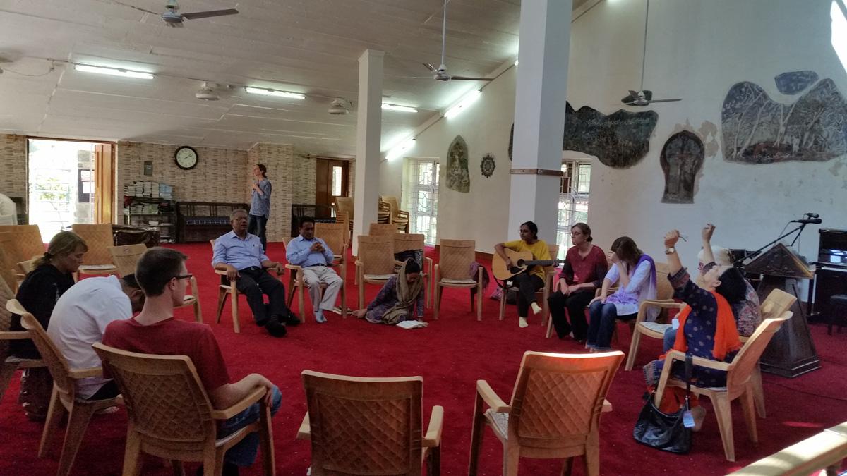Prayer circle Srinagar