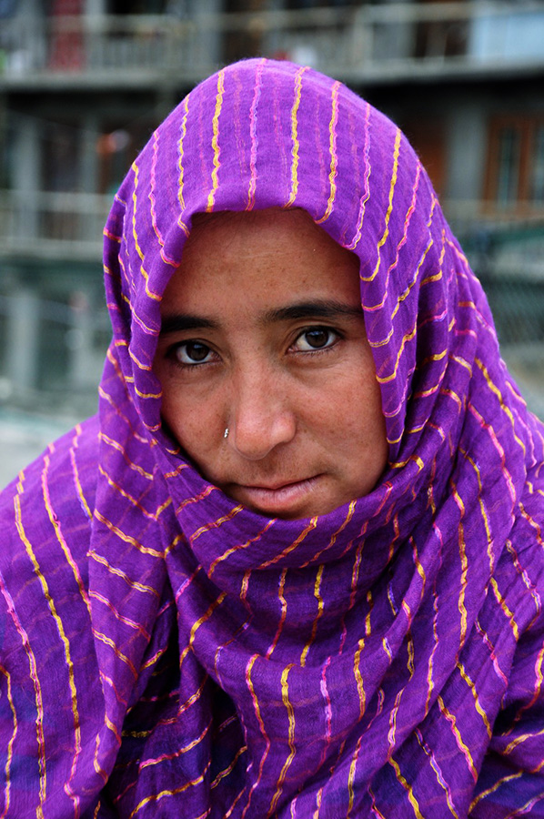 woman in kargil