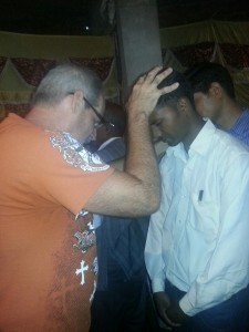 Gregg praying