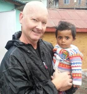 Dan with child