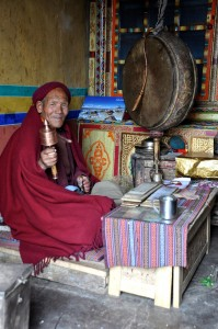 man with gong India