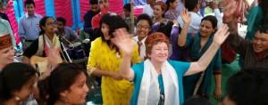 Barb dancing - much joy