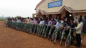 New bicycles for Pastors