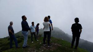 team praying on mtn palampur
