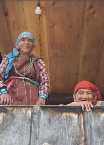 two women in village near kullu - Copy