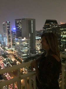 kenda overlooking city